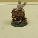 Nature's Friend Collection Happy Spring Bunny.  Made of resin.  Pre-owned & in excellent condition.  $15.00 obo