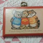 "Hallmark Friends Plaque.  Adorable and made of wood.  Measures 4.5"" x 3"".  Pre-owned & in excellent condition. $10.00 obo"