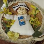 Stuffed Nurse Wall Décor.  Adorable.  Pre-owned & in excellent condition.  $12.00 obo