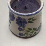 Papel Giftware Ceramic Candle Holder.  Made in the Phillippines.  Pre-owned & in excellent condition.  $12.00 obo