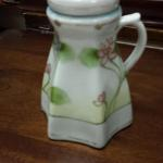 Vintage Nippon Hand Painted Sugar Shaker.  Beautiful.  Top unscrews.  Pre-owned & in excellent condition.  $90.00 obo