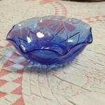 Cobalt Blue Small Bowl.  Pre-owned & in excellent condition.  $12.00 obo