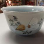 Vintage Royal Copenhagen Bowl.  Believe to be Frajance Cherry Blossom.  Signed and numbered on bottom.  Pre-owned & in excellent condition.  $80.00 obo