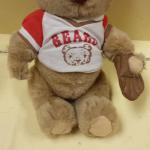 1985 Gorham Baseball Bear Christopher.  Has moveable arms and legs.  Pre-owned & in great condition.  $12.00 obo