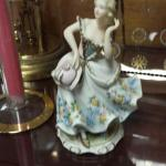 Vintage Porcelain Figurine from Lefton China.  Beautifully hand painted and KW2077B is on bottom.  Pre-owned & in excellent condition.  $20.00 obo