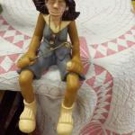J. Manning Limited Edition Lady Golfer Shelf Sitter.  Adorable.  Pre-owned & in excellent condition.  $15.00 obo
