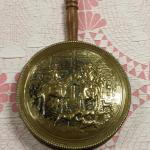 Antique England Brass Bed Warmer.  Great piece.  Pre-owned & in excellent condition.  $30.00 obo