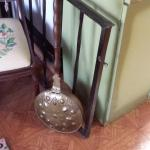 Antique Copper & Brass Bed Warmer.  Made in Holland.  Pre-owned & in excellent condition.  $27.00 obo