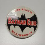 Vintage Ron Riley's Batman Club Pin.  Believe to be from the 1960's.  From WLS/WBKB-TV.  Pre-owned & in excellent condition.  $15.00 obo