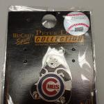 Cubs Collectible Pin.  Features panda bear by WinCraft Sports.  Pre-owned & in mint condition, new in package.  $5.00 obo