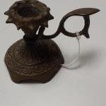 Antique Brass Candle Snuffer.  Great piece with detailed engraving.  Pre-owned & in excellent condition.  $15.00 obo
