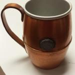 Vintage Copper Mug.  Has Universitatic Depavensis Greencastelli, Ind. Emblem.  Pre-owned & in excellent condition.  $20.00 obo