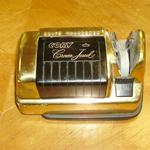 "Vintage Cory Crown Jewel Electric Knife Sharpener.  Finished in gold with black accents.  Measures 6"" long.  Pre-owned & in great condition, very elegant looking.  $20.00 obo"
