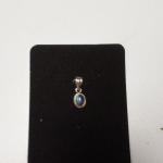 Sterling Silver Moonstone Pendant.  Gorgeous.  Pre-owned & in excellent condition.  $15.00 obo