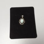 Sterling Silver Turquoise Pendant.  Beautiful.  Pre-owned & in excellent condition.  $15.00 obo