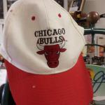 Chicago Bulls Baseball Cap.  This is a Sears Brand Central Chicago White Sox.  1 Size fits all.  Pre-owned & in great condition.  $10.00 obo