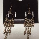 Sterling Silver Pierced Dangle Balls Earrings.  Cute pair.  Pre-owned & in excellent condition.  $22.00 obo