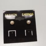 Pearl Post Earrings.  Beautiful.  Pre-owned & in excellent condition.  $22.00 obo