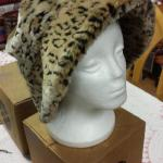 Vintage Liz Claiborne Leopard Hat.  Beautiful hat.  No Size marked.  Pre-owned & in excellent condition.  $25.00 obo