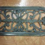 "Large Metal Decorative Wall Accent.  Measures 42""l x 18""h.  Pre-owned & in excellent condition.  $50.00 obo"
