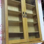 Light Wood Shadow Box.  Measures 15.25 x 3.50 x 19.75.  Pre-owned & in excellent condition.  $26.00