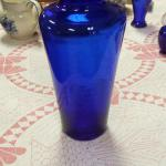 Tall Cobalt Blue Vase.  Beautiful.  Pre-owned & in excellent condition.  $15.00 obo