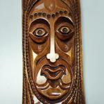 Hand Carved Wood Rasta Face.  Great piece.  Pre-owned & in excellent condition.  $25.00 obo