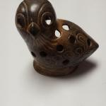 "Ceramic Owl Tea Light Hanger.  Adorable.  Measures 6"".  Pre-owned & in excellent condition.  $18.00 obo"