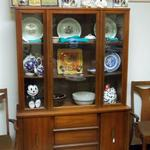 "Mid Century China Cabinet.  Beautiful piece of furniture.  Measures 46""l x 19""w x 60""h.  Pre-owned  in excellent condition.  $350.00 obo"