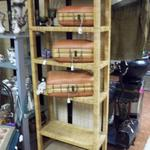 "Tal Natural Wicker Shelf.  Made by Walters Wicker Wonderland.  Measures 29""l x 12""w x 69""h.  Pre-owned & in excellent condition.  $125.00 obo"