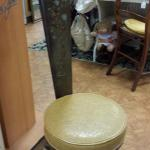 "Vintage Milking Chair. Adorable.  Measures 13.5""round x 41""high.  Pre-owned & in excellent condition.  $75.00 obo"