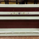 "Vintage Hand Painted Wood Wall Shelf.  Adorable.  Measures 41.5""l x 8.5""w x 23.5""h.  Pre-owned & in excellent condition.  $55.00 obo"