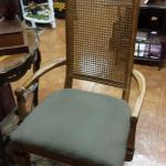 "Caneback Kings Chair.  Beautiful.  Measures 22"" x 20"" x 45"".  Pre-owned & in excellent condition.  $75.00 obo"