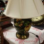 Ceramic Lamp with Fruit.  Beautiful and includes shade.  Pre-owned & in excellent condition.  $75.00 obo