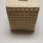 Cross Stitched Kleenex Box Cover.  Pre-owned & in excellent condition.  $7.00 obo