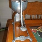 "Vintage Wear-Ever Aluminum Juicer.  Pre-owned & in excellent condition.  Measures approximately 9"" high.  $25.00 obo"