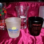 Shot Glasses-Lot of 5-Various Liquor Distributors.