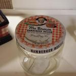 Vintage Ma Brown Hamburger Relish Jar.  Cool piece.  Pre-owned & in excellent condition.  $10.00 obo