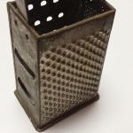 Vintage Metal Cheese Grater.  Great piece for any kitchen.  Pre-owned & in great condition, has some rust.  $5.00 obo