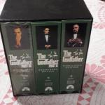 The Godfather Collection in VHS.  Part I, II, and III Wide Screen Edition.  Pre-owned & in excellent condition.  $15.00 obo