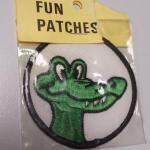 Fun Patch Alligator Patch.  Cool for any child.  Pre-owned & in mint condition, in original package.  $5.00 obo