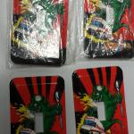 Dougzilla Snap-on Light Switch Covers.  4 Available.  Unique item.  Pre-owned & in excellent condition.  $5.00 each obo